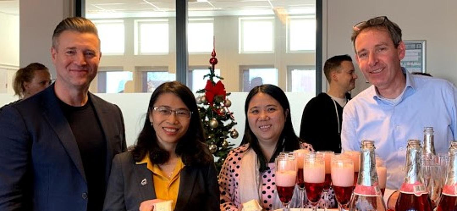 Bezoek Vietnamese Ton Duc Thang University aan Saxion-academie Financiën, Economie en Management
