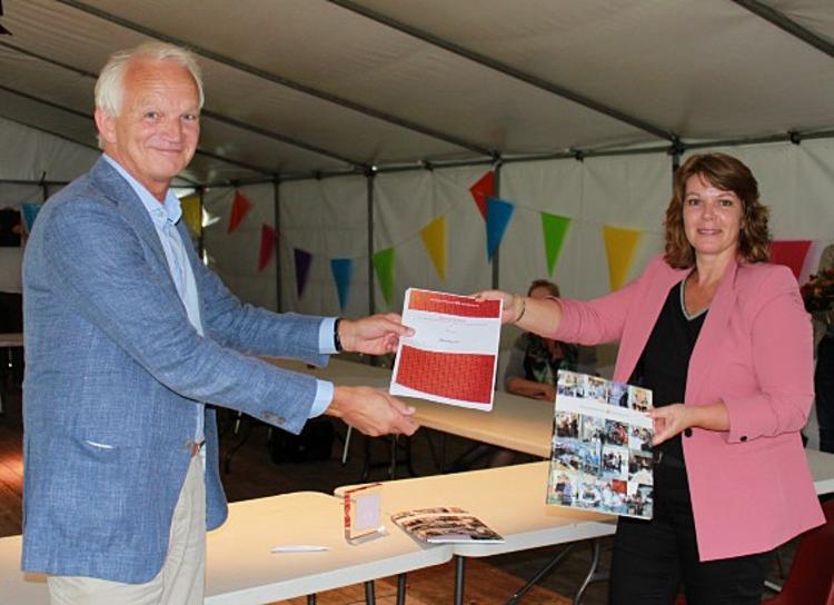 Paul Willems en Corrola Hommen van SBB