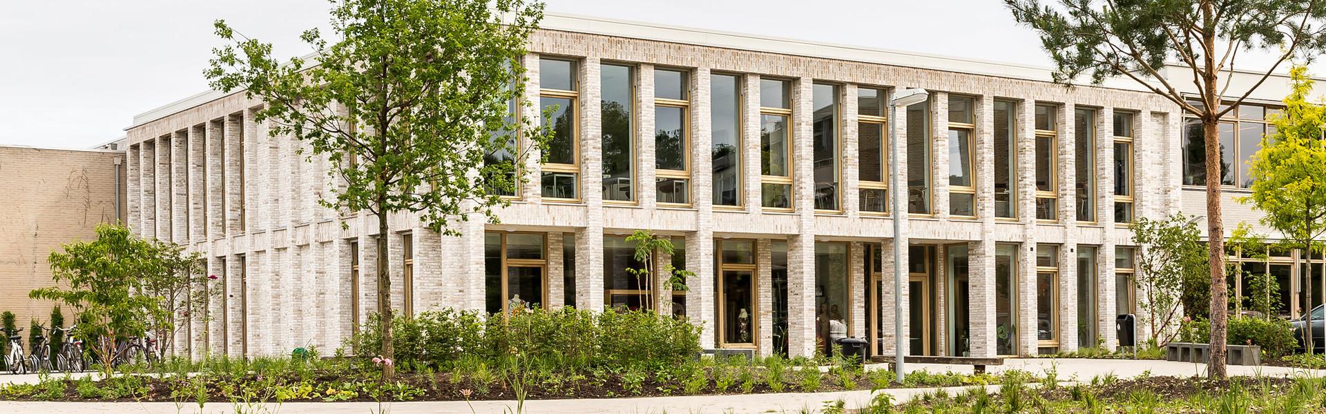 Schoolgebouw van Aeres VMBO en MBO Velp