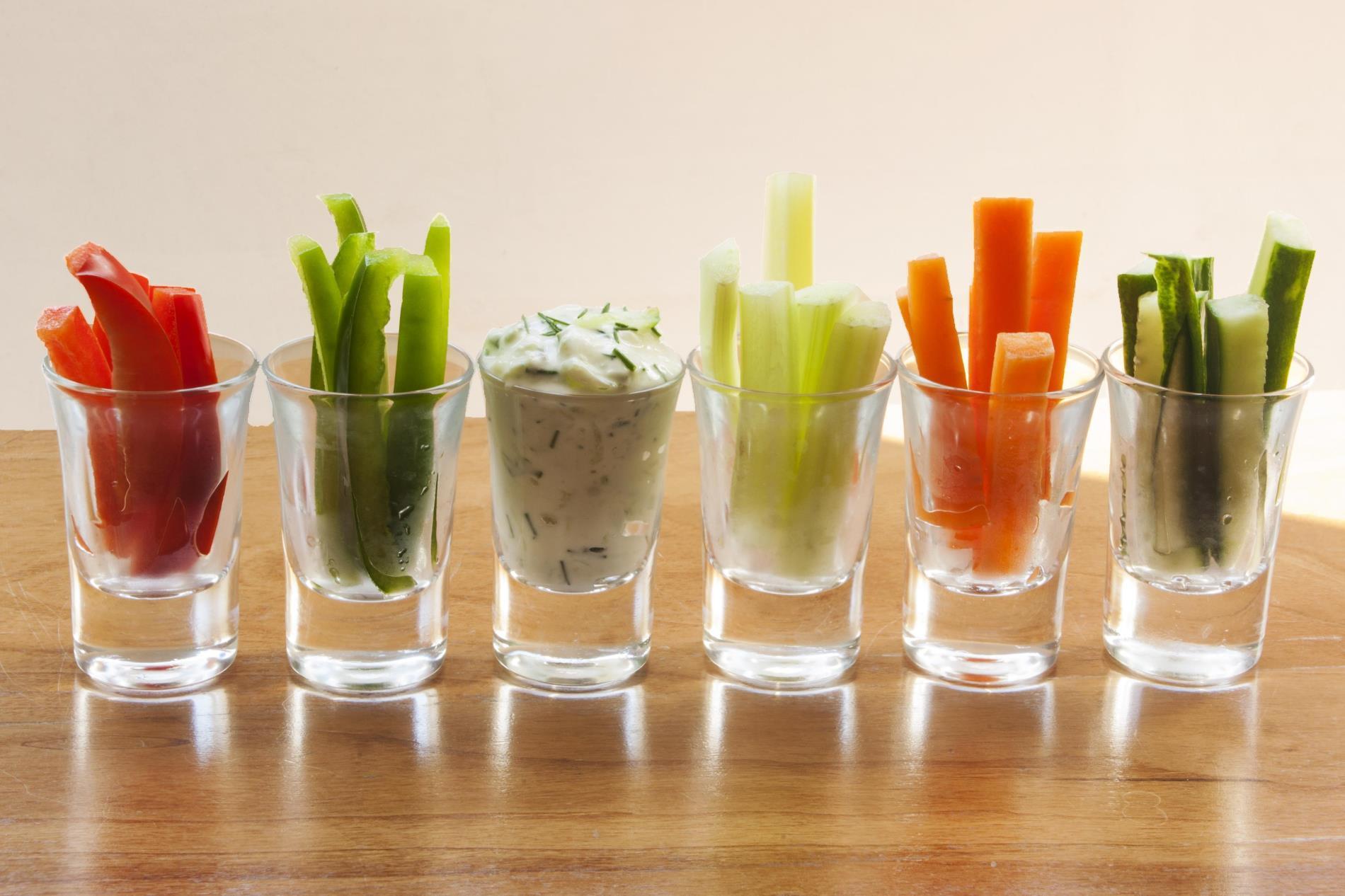 Aeres MBO Food groentedip gezond