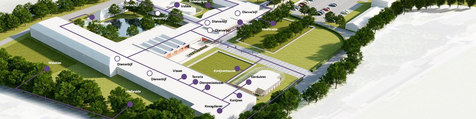 Plattegrond Campus Aeres MBO Barneveld
