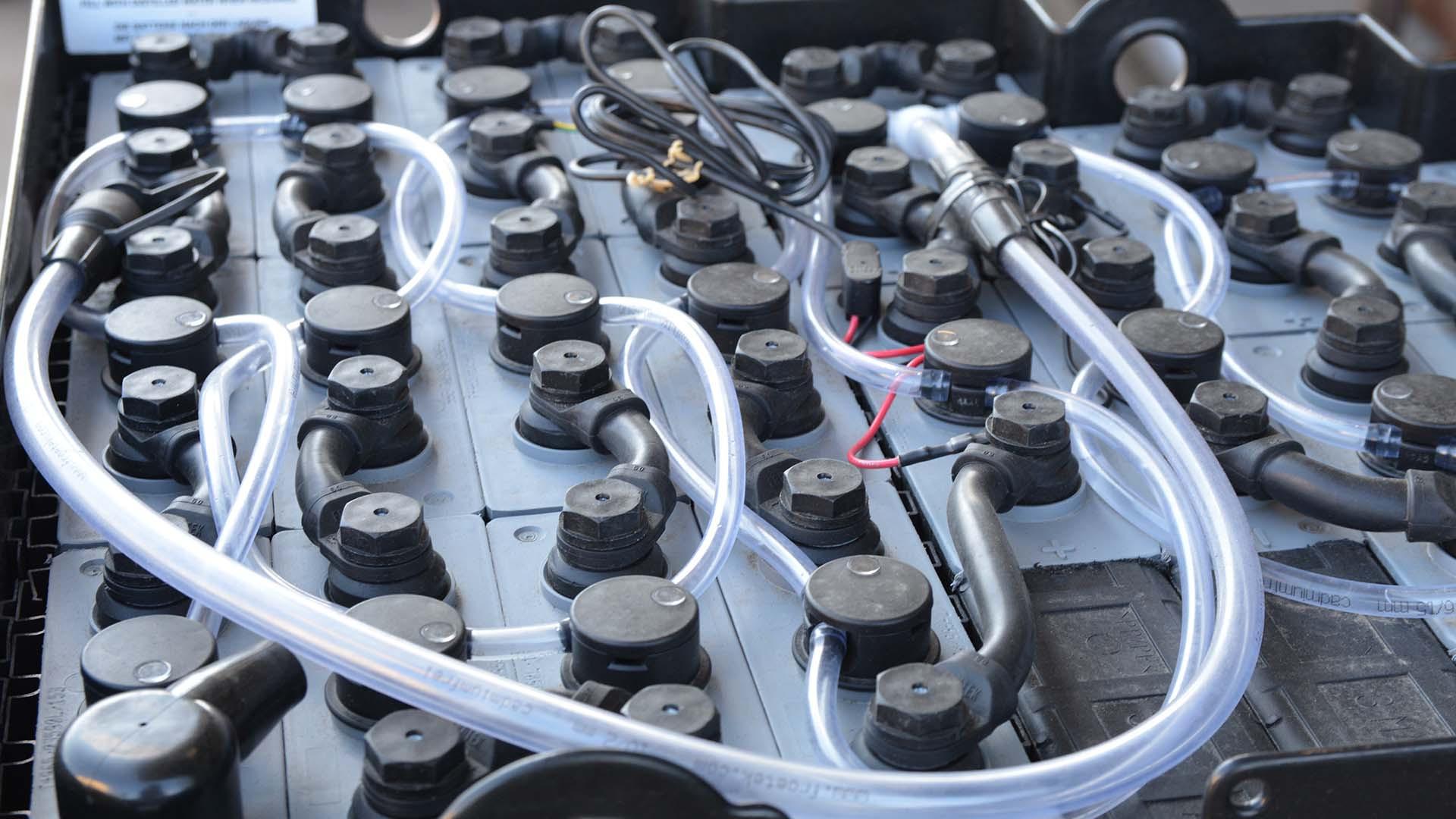 Sleutelen aan elektrische voertuigen