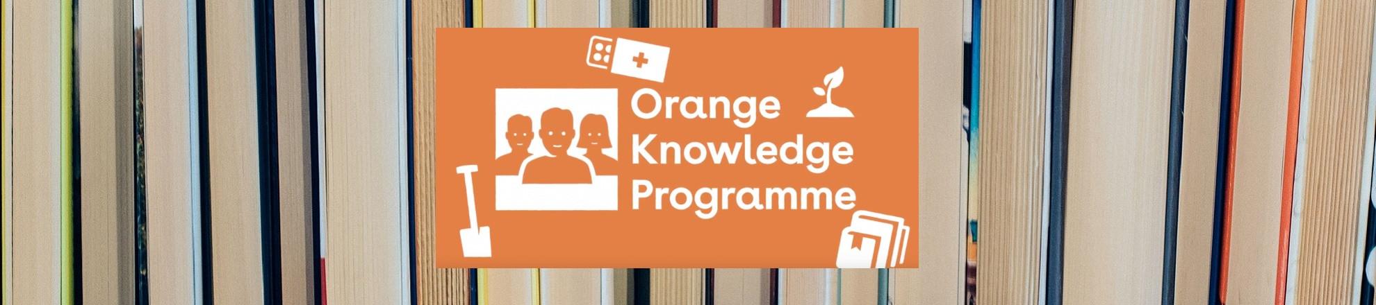 Scholarship Orange Knowledge Programme