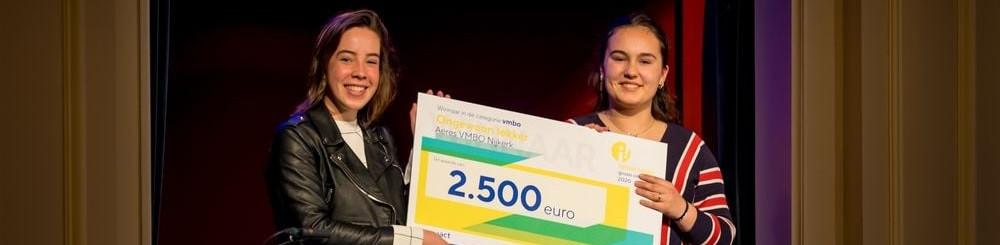 Aeres VMBO Nijkerk wint Impactprijs Groen Onderwijs 2020