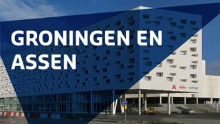 Groningen en Assen